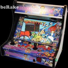 "Vendo Recreativa arcade tipo ""bartop"". con cpu intel core2 duo, hd 160gb, monitor panorámico 19"". frontend hyperspin. emuladores ""mame"", ""daphe"", jukebox, cinema theather...."