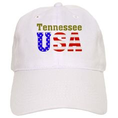 a19125e138064 Tennessee USA Cap http   www.cafepress.com