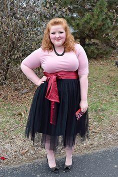 d9db7920d17 Mix It Mondays  Tulle Skirt. Plus Size TutuPrincess TutuTutu OutfitsPlus ...