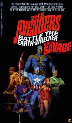 Avengers: Doc Savage Comic Book Fan Art