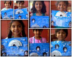 "Potato Print Penguin Craft from Artsy Craftsy Mom ("",)"
