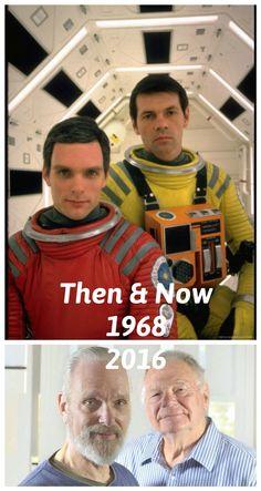 #thenandnow #thenandnowphotos #2001aspaceodessey #openthebaydoorshal #HAL #GaryLockwood #KeirDullea #imsorrydaveicantdothat #scifi #kubrick