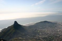 Cape Town in Western Cape Cape Town, Westerns, Tours, Mountains, City, Nature, Travel, Naturaleza, Viajes