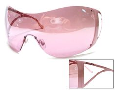 womens pink sunglasses  VERSACE 4116B 314/8G WHITE GRAY GRADIENT RHINESTONE WOMENS ...