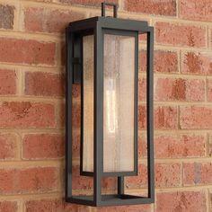 Outdoor Sconce Lighting, Front Door Lighting, Garage Lighting, Outdoor Wall Lantern, Outdoor Wall Lighting, Outdoor Walls, Modern Outdoor Sconces, Lighting Ideas, Modern Exterior Lighting