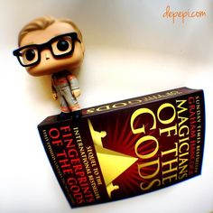 And since I've been so hooked on Thor: Ragnarok's teaser trailer let's take a look at... Kevin!? Yup!  He's after the Fingerprints of the Gods!!! (Maybe he's looking for Thor lol ) Have a nice day  #booksandpops #bookstagrammer #bookaddict #geeklife #funkofunatic #funko #booklover #bookblog #bookstagramcommunity #funkopopuk #funkopops #books #geek #bookstagram #bookworm #bookblogger #booklove #popculture #booklovers #bookphotography #bookish #libri #libridaleggere #ghostbusters…