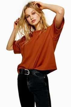 70c3c7446b1 Oversized Boxy T-Shirt - New In Fashion - New In - Topshop Europe Shirt