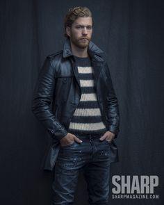 Claude Giroux in Sharp Magazine. Photographers: Raina+Wilson Stylist: Randy Smith Grooming: Sheri Stroh
