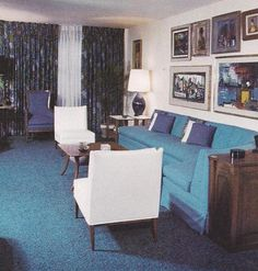 1960s Decor | Vintage Home Decorating 21
