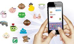 Momojis, at last. Because parents need laughs and have no energy for texting lots of words.