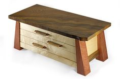 KRT Woodworking - Recent Work Nice box with simple design for striking form overall.