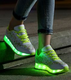 Awesome LED lights sneakers
