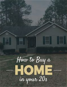 How to Buy a Home in Your 20s — PaperLark Studio