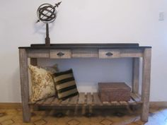 Mesa de arrime. labrocantedeco.com