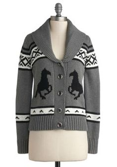 Sleigh to Chalet Cardigan, #ModCloth