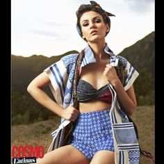 One of my favorite looks from my @cosmoforlatinas shoot. I feel like a Latin Rosie the Riveter
