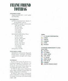 FELINE FRIEND TOTE BAG by DEBBIE TABOR 2/4