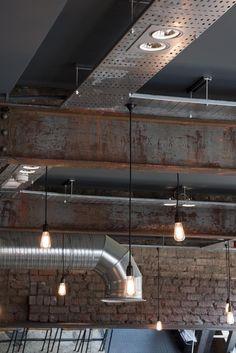 Restaurant and Bar Design Awards - Entry Bar Interior Design, Interior Concept, Cafe Design, Brewery Design, Restaurant Design, Restaurant Bar, Crossfit, Bar Design Awards, Rustic Cafe