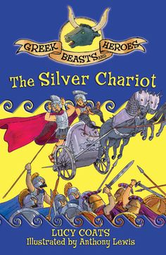 Greek beasts and heroes: The Silver Chariot by Lucy Coats 292 COA Face Hermes, Narcissus, Pan and the Fates.