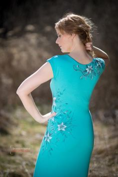 Šaty - Maľba na šaty... - 3868641_