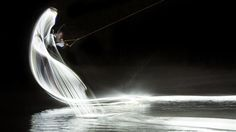 Red Bull Light Painting Wakeboard Photo Series (3)