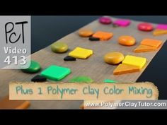 Polymer Clay Color Mixing Trick
