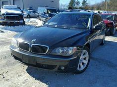 2007 #BMW 750LI 4.8L for Sale at #Copart Auto Auction. Bid & Win Now.