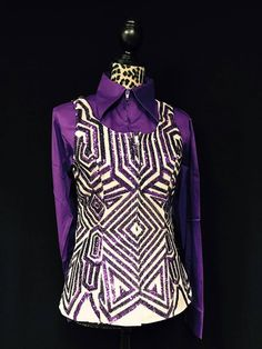 The Purple Princess Vest