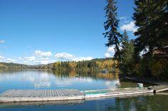Cottonwood Bay Resort, Campingplatz in Bridge Lake, BC