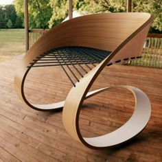 Beautiful curves chair