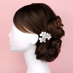 Alyssa Pearl Comb - Kate Ketzal Jewellery & Adornments, $70