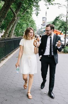 Casual New York City Wedding | A Cup of Jo