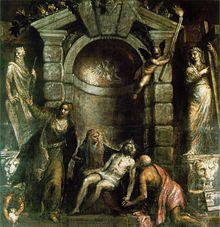 Tizian – Pietà (Mitte der 1570er Jahre), Galleria dell'Accademia, Venedig