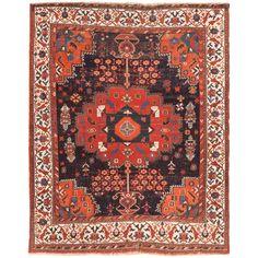 Antique Afshar Persian Rug