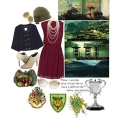33/70 The Triwizard Tournament, created by girloverboard on Polyvore