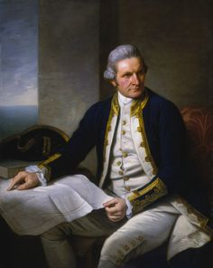 MEN FASHION AND HISTORY — Captain James Cook