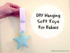 Dollar Store Crafts » Blog Archive » Tutorial: DIY Hanging Soft Toys