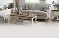 Gower Stripe Large Sofa Gower Stripe | DFS - Height 96 Width 183 Depth 107