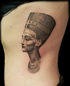 Nefertiti Tattoos Designs Ideas and Meaning | Tattoos For You