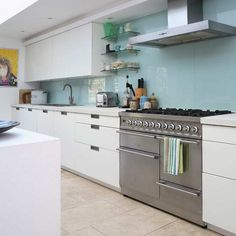 floor and backsplash - how would this look with my cherry wood cabinets and my black or white granite?