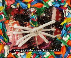 Spinnen lollies in alle kleuren van de regenboog. Maak je ze met ons mee?