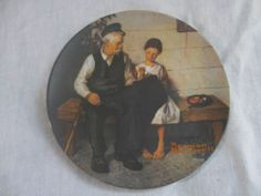 """I'm selling Norman Rockwell Collector Plate - """"The Lighthouse Keeper's Daughter"""" - $6.00 #onselz"""