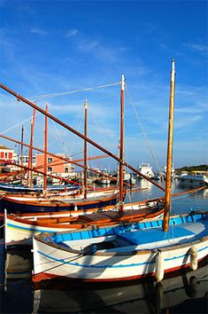 Painted Boats in Sardegna,Italy