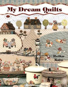 Fabric and Sewing - Patchwork and quilting projects. Country Theme.