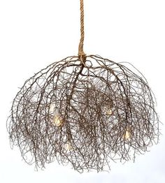 Large+Native+Tumbleweed+Chandelier+by+Same+Tree+on+Scoutmob+Shoppe.   It's a tumbleweed! Why can't I come up with ideas like this? Sells for $3000.00