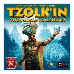 Rio Grande Tzolk'in: The Mayan Calendar Board Game