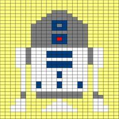 robot chart knitting design - Google Search