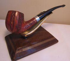 """Vintage Yello-Bole """"Duo-Lined"""" Full Bent Billiard Estate Briar Tobacco Pipe"""