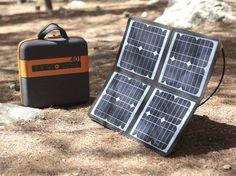 Una creación israelí para tener energía solar portátil - portable solar energy devise made in Israel