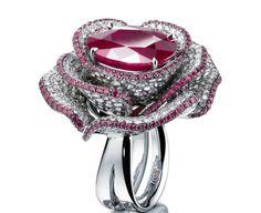 Adler Purple Rose ring
